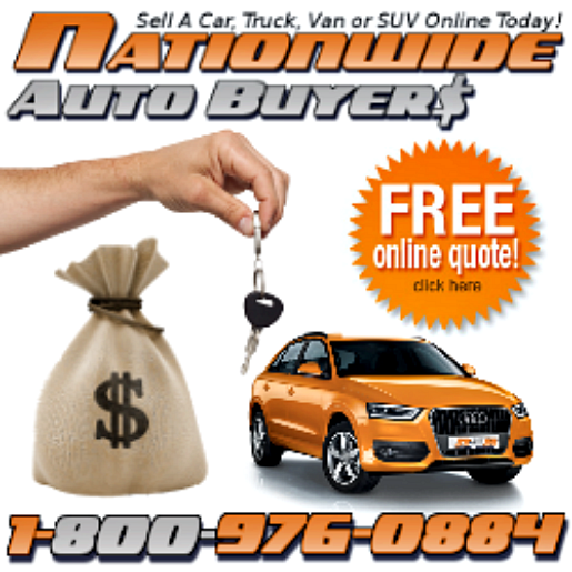 Nationwide Auto Buyers Sell My Car For Cash 1 800 976 0884